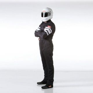 Buy RaceQuip 120005 Driving Suit SFI-5 SUIT BLACK LARGE motorcycle in Decatur, Georgia, United States, for US $259.95