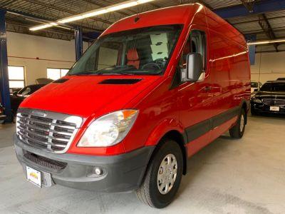 2011 Freightliner Sprinter 2500 work truck (Red)