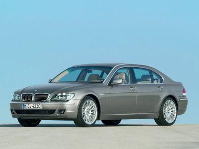 2006 BMW 7-Series 750Li (Titanium Silver Metallic)