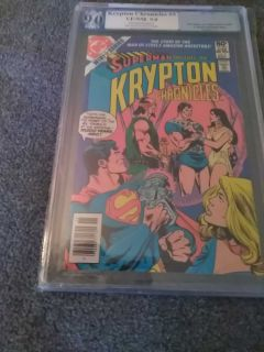 Superman Presents The Krypton Chronicles #3 Jan 1981 pgx 9.0