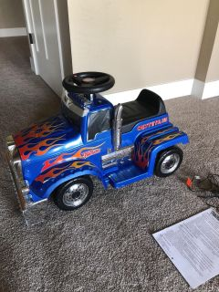 Riding Truck (Electric)
