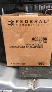 For Sale/Trade: American Eagle (federal) .223