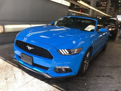 2017 Ford Mustang EcoBoost Premium Convertible (Grabber Blue)