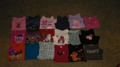 Girls size 6 fall/winter clothes