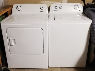 Washer and dryer selling for friend