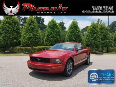 2009 Ford Mustang V6 Deluxe (Red)
