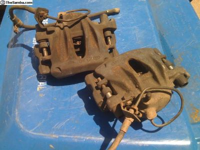 ATE brand front calipers and carriers, syncro,2wd
