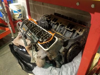 chevy 350 vortec engine