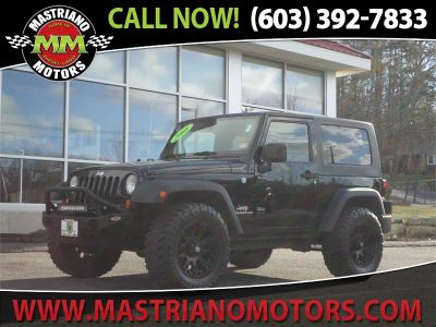 2008 Jeep Wrangler X (Black)