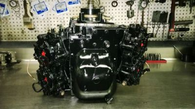 Find 1987-1998 JOHNSON / EVINRUDE OUTBOARD POWERHEAD 90 / 88/ hp FRESH LONG BLOCK motorcycle in West Sunbury, Pennsylvania, United States, for US $1,850.00