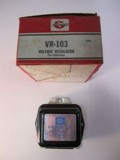 Buy Standard Ignition Voltage Regulator VR-103 GM Products NOS motorcycle in Akron, Ohio, United States, for US $22.95
