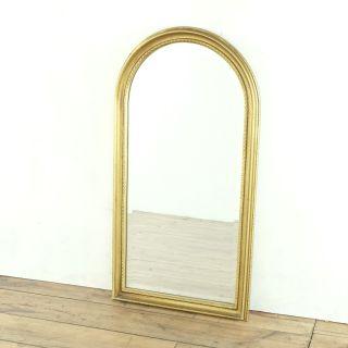 Carolina Arched Gilt Wall Framed Mirror
