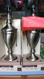 Portfolio Aged Brass Finish Lamp Bases~NEW~$20each or $35.00 Pair