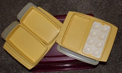 Tupperware price is for both