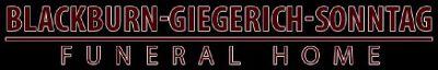 Blackburn-Giegerich-Sonntag Funeral Home