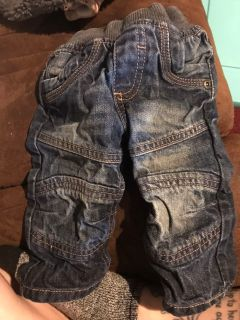 Cute Jeans never worn size 3-6 months boys