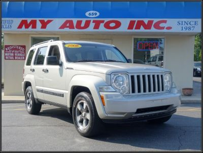 2008 Jeep Liberty Sport (Light Graystone Pearl)