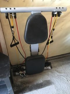 Resistance exercise machine