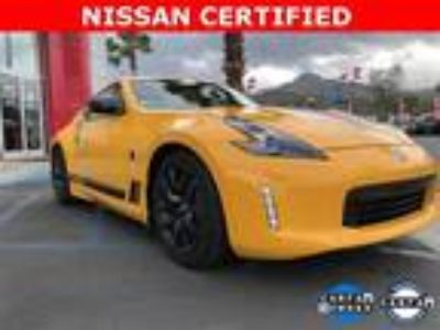 Used 2018 Nissan 370Z Coupe Chicane Yellow, 14.7K miles
