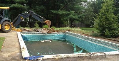 Swimming Pool Demolition / Removal - Residential Contractor