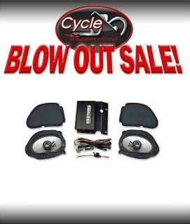 Sell HOG TUNES HOGTUNES FLTR ROAD GLIDE AMP SPEAKER KIT NEW motorcycle in Hartford City, Indiana, US, for US $319.95