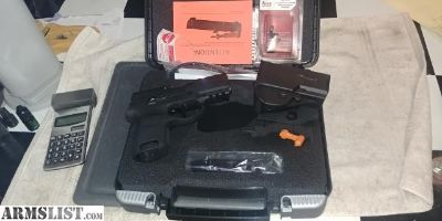 For Sale: P320 subcompact 9mm