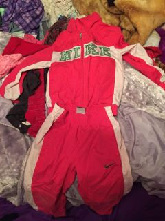 Nike track suit size 6