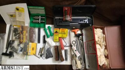 For Sale: Cleaning kits, dies, miscellaneous