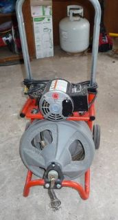 RIDGID DRAIN CLEANING MACHINE