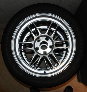 Enkei RPF1 17x9 wheels & Nitto NT01 275/40/17 tires