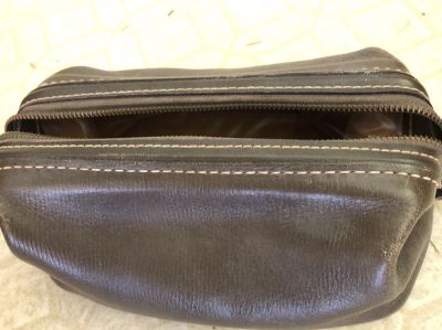 Leather Travel Bag.** SWAP ONLY**