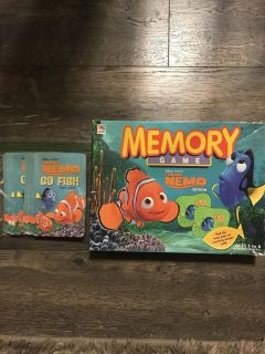 Finding Nemo games. All pieces accounted for.