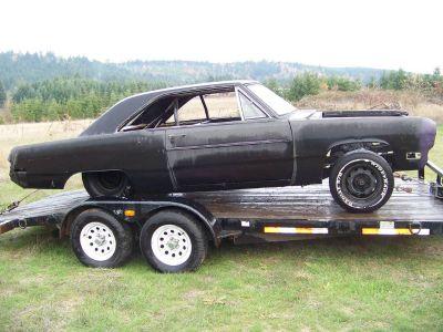 1970 Dodge Dart Drag Car Project, Caged, Narrowed, Back Half