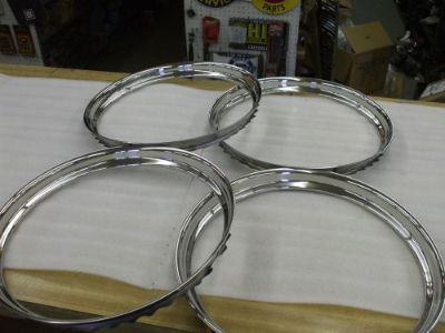 "Purchase GM-Ford-Mopar set of four NEW 15"" trim rings L@@@@@@@@@@@@@@@K motorcycle in Springfield, Ohio, United States, for US $110.00"