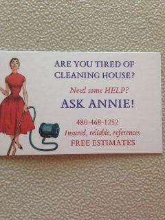 Ask Annie Housecleaning Services