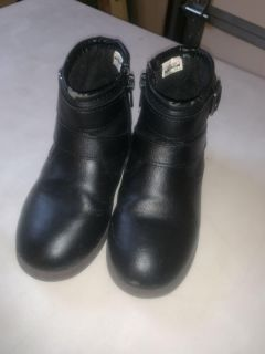 Size 10 Carters black boots
