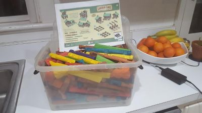 Lincoln Logs Original Collector s Edition and More Pieces Added
