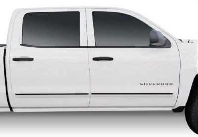 Purchase For: GMC SIERRA 2500HD CREW; PAINTED Body Side Moldings w/Black Insert 2014-2016 motorcycle in Cleveland, Ohio, United States, for US $161.46