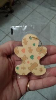 BRAND NEW GINGERBREAD NAIL FILE