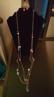 Necklace&Earrings (multicolor)