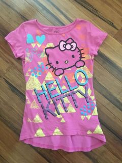Hello Kitty Cute Top - Size 7/8