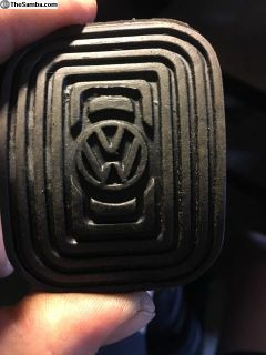 VW clutch pedals cover, Original