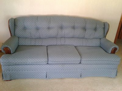 Bassett couch and loveseat