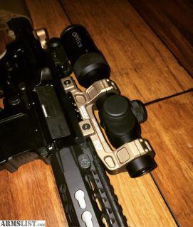 For Sale: US optics SR4C on geissele ddc Mount