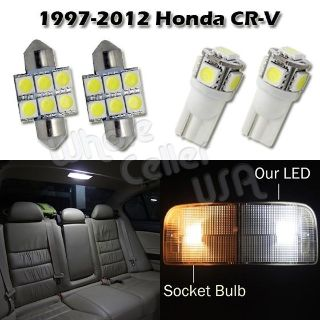 Purchase 6x White Interior LED Map Dome Trunk License Plate Light Bulb Lamp Package Deal motorcycle in Cupertino, CA, US, for US $14.99