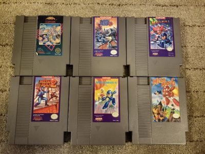 Prices in last pic: NINTENDO NES GAMES FOR SALE - Prices in pictures