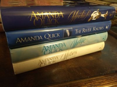 Amanda Quick Novels Hardcover and in excellent condition.