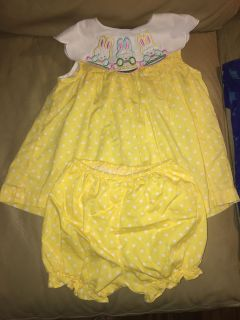 Little Girls Bundle All Size 3T 2 Dresses, 2 Shirts, 3 Light Weight Jackets & 1 Pullover. All in Good Shape!