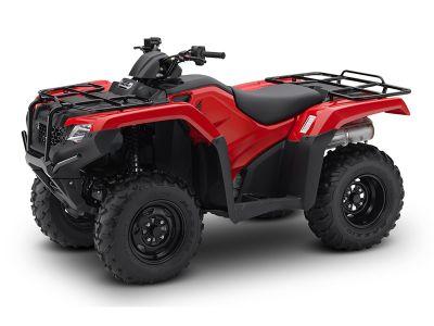 $4,899, 2016 Honda FourTrax Rancher ES TRX420TE1G