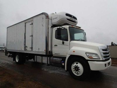 2012 Hino Trucks 338 Refrigerated Body